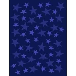 Blue Stars Super Soft Reversible Blanket