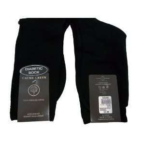 Mens Crew Diabetic Socks 3 Pair Pack with Free Fathers