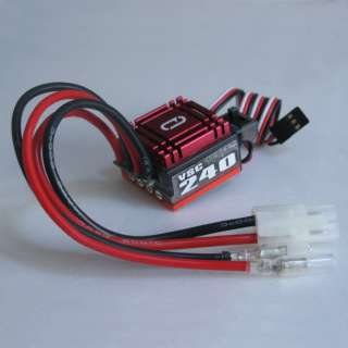 Venom 60A/240A Burst Waterproof Brushed Speed Controller ESC for Car