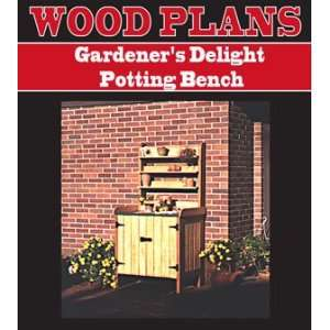 POTTING BENCH WOODWORKING PAPER PLAN PW10008