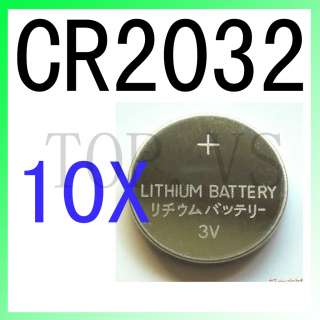 10x Lithium Coin Cell Battery CR2032 CR 2032 DL2032 ECR2032 LM2032