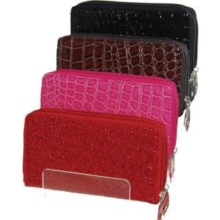 Buxton Genuine Leather Ladies Wallet Multicolor #900003