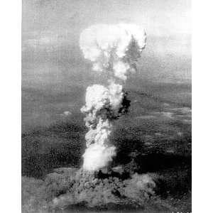 Hiroshima Mushroom Cloud Atomic Bomb 8x10 Silver Halide