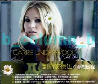 CARRIE UNDERWOOD Play On CD (2009) w/OBI RARE SEALED