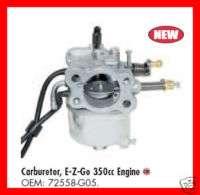 CARBURETOR EZ GO 350CC ENGINE GAS GOLF CART NEW CARB OEM part # 72558