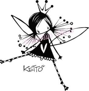 CALLIOPE KETTO Stamping Bella Unmounted Rubber Stamp