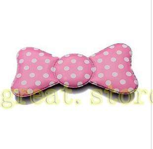 3pc ribbon Magic Statics Bangs Hair Pad Bow Hair Velcro Pad hair care