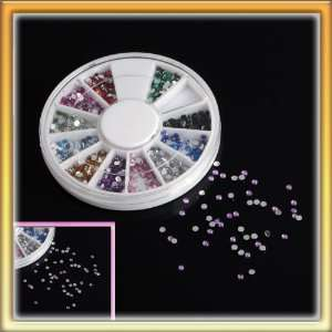 LY Glamourous 12 Color Water Drop Nail Art Diy Nail Sticker Decoration