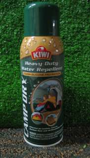 Kiwi Camp Dry Water Repellent Spray Silicone Protection Leather