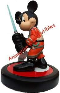 DISNEY Star Wars Tours Mickey Mouse as Jedi X Wing Pilot Statue Bust