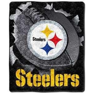Pittsburgh Steelers Super Soft Sherpa Blanket
