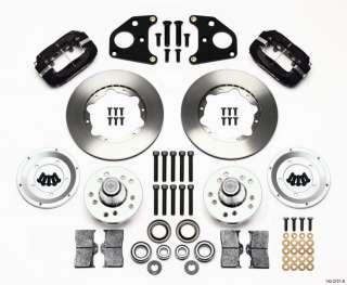 Dynalite Pro Mopar B E Body Front Disc Brake Kit 11