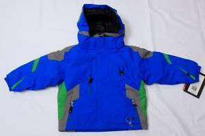 NEW SPYDER KIDS/GIRLS/BOYS SKI MINI LEADER JACKET 2 4