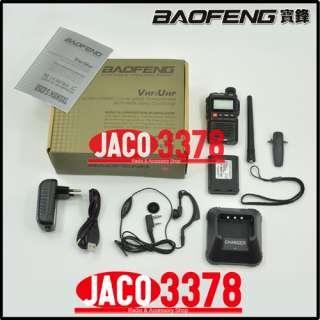 BAOFENG UV 3R+ Plus Dual Band Radio + Free 5 107SF U/V Antenna