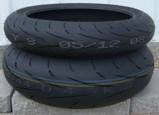 DUNLOP SPORTMAX Q2 MOTORCYCLE TIRES 190 REAR, 120 FRONT