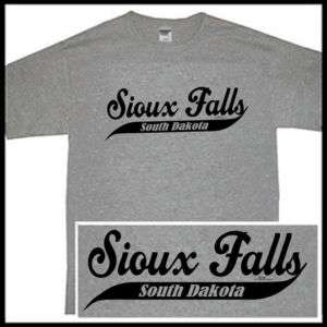 SIOUX FALLS SOUTH DAKOTA SD STAMPEDE STORM SS T shirt