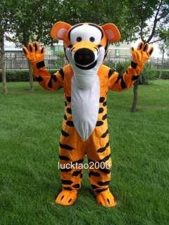 Novel Lovely Tiger Mascot Costume Cartoon Fancy Dress