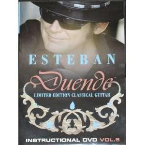 Esteban Duende Classical Guitar Instructional DVD Vol 5: Esteban