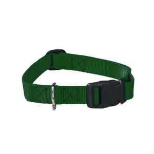 Guardian Gear Nylon Adjustable Dog Collar with Plastic Buckles, 3/4