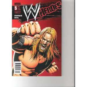 WWE Heroes Comic Triple H Cover (Cover B, August 2010 Number 5): Books
