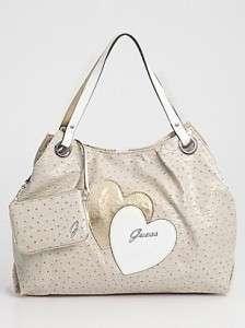 NWT GUESS SOULMATES Shopper TOTE Bag Hanbag Purse LARGE