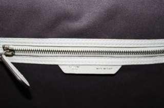 Celine Mini Luggage Lune Light Grey Drummed Leather Bag New 2012