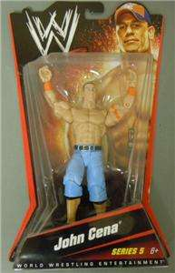 JOHN CENA WWE MATTEL BASIC SERIES 5 ACTION FIGURE