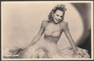X0361 RP Sonja Henie, Its A Pleasure Vintage Movie Star postcard