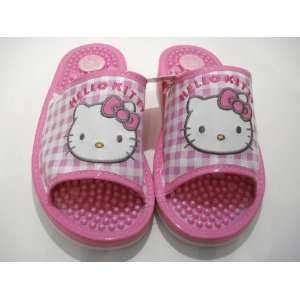 Pink Hello Kitty Massage Slippers