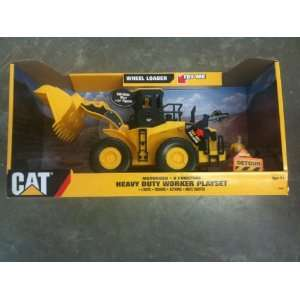 CAT Heavy Duty Worker Playset   Wheel Loader + Worker Toys & Games