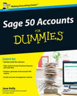 Sage 50 Accouns for Dummies (Paperback)   Jane Kelly   9780470715581