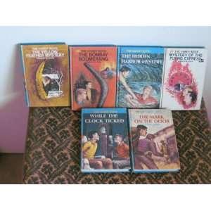 Hardy Boys Mystery Books (12 Volumes) Franklin W. Dixon