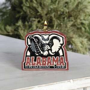 Alabama Crimson Tide Team Logo Oil Lamp