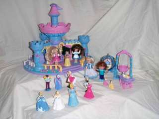 Spin N Surprise Castle Fisher Price Disney Cinderella Belle Snow