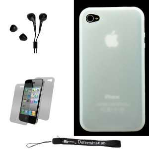 White Smooth Durable Protective Silicone Skin Cover Case