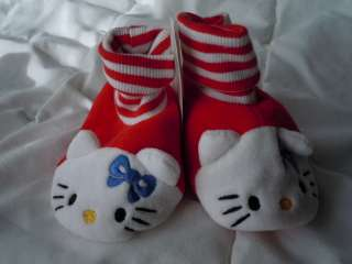 Infant Girls Hello Kitty Booties Slippers NWT