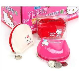 Hello Kitty Glossy Enamel Coin Purse/ Case/ WalletPink
