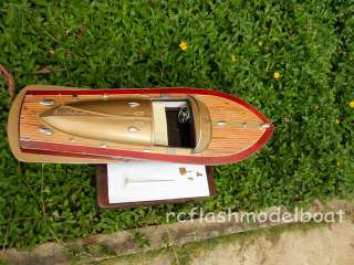CHRIS CRAFT COBRA WOODEN SPEED BOAT MODEL 26.4   CAN BE CONVERT RC
