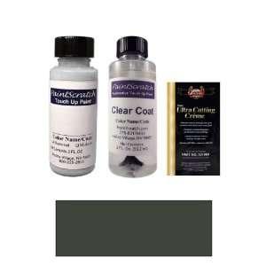 2 Oz. Dark Gray Metallic (Cladding) Paint Bottle Kit for