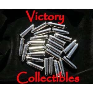 25 Replica Silver Bullets   Colt Denix Gun Revolver Dummy