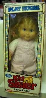 377 RARE NIB Vintage Playskool Kid Sister Doll