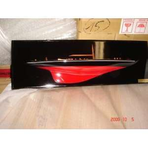 Endeavour Half Hull High Quality Hand Made Wooden Model Ship for Wall