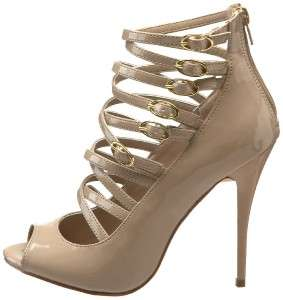 Womens Shoes NIB Steve Madden RAIGE Stiletto Pumps Blush Patent Beige