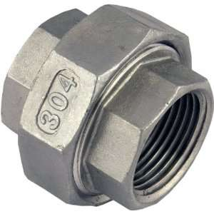 Female x 3/4 Female Stainless Steel NPT Pipe Fitting 304 SUS304 SS304
