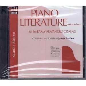 Piano Literature Performance CDs (The Bastien Series
