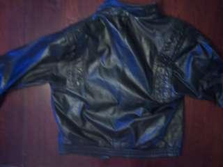 leather jacket, 80s glam rock, Heavy metal jacket, Lip Service