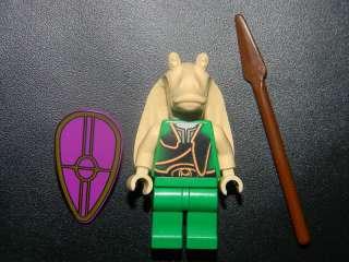 RARE CLASSIC 2000 LEGO STAR WARS GUNGAN SOLDIER MINIFIGURE 7115