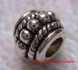 Free ship 84pcs tibetan silver spacer beads 8mm