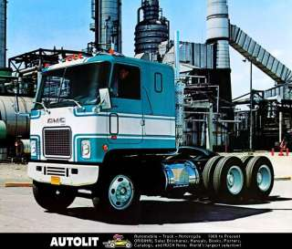 1971 GMC Astro 95 COE Tractor Truck Factory Photo