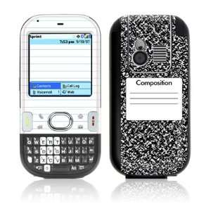 Composition Notebook Design Protective Skin Decal Sticker for Palm